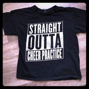 Anvil Cheerleading T-shirt